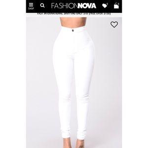 🆕Fashion Nova super high waisted skinnies sz 2x